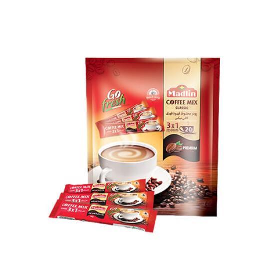 قهوه فوری 1*3 مادلین